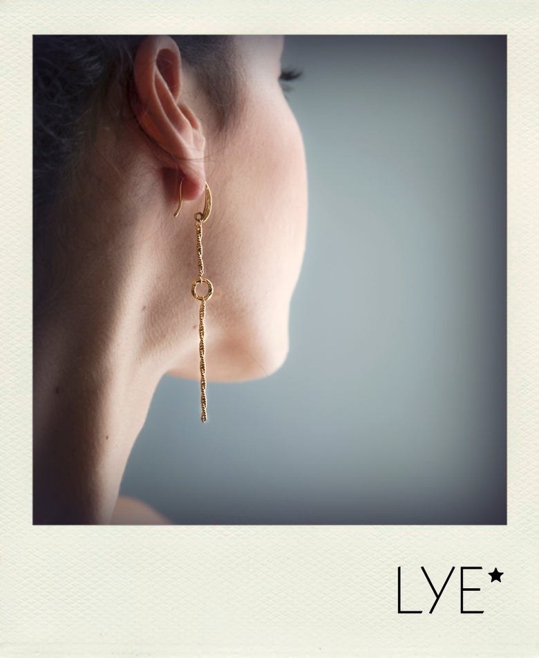 Image of Boucles d'Oreilles Longue simple Sunnywinter