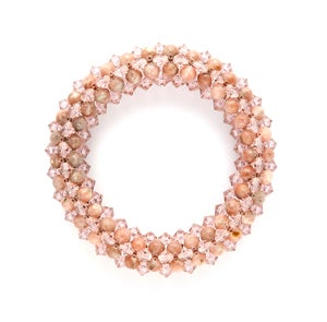 Image of Chalk Pink Rope Bracelet