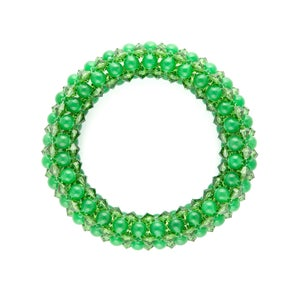 Image of Emerald Rope Bracelet