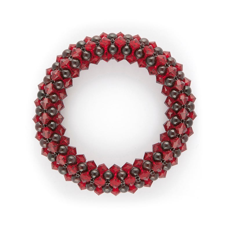 Image of Garnet Rope Bracelet