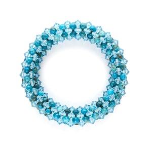 Image of Azure Rope Bracelet