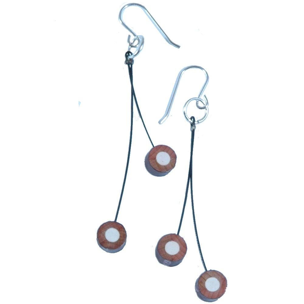 Image of cherry pencil earrings