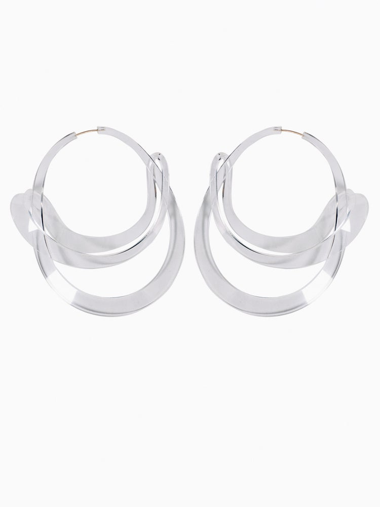 Image of Yasmin Earrings Clear