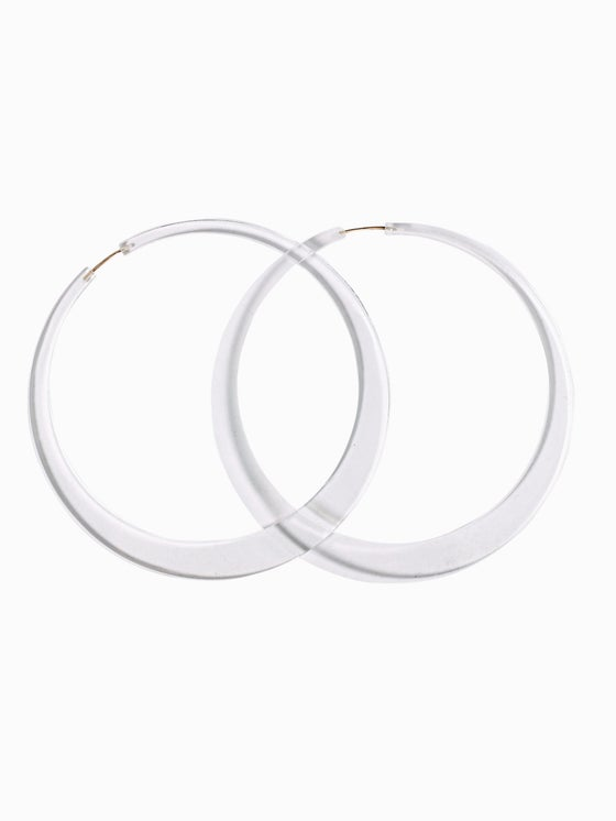Image of Ellana Hoop Earrings