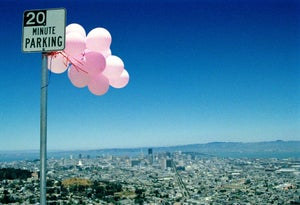 Image of Pink Balloons,SF 1999