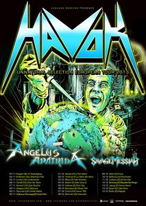 Image of Concert 1 Dec // HAVOK + ANGELUS APATRIDA + SAVAGE MESSIAH @ Nantes, Le Ferrailleur