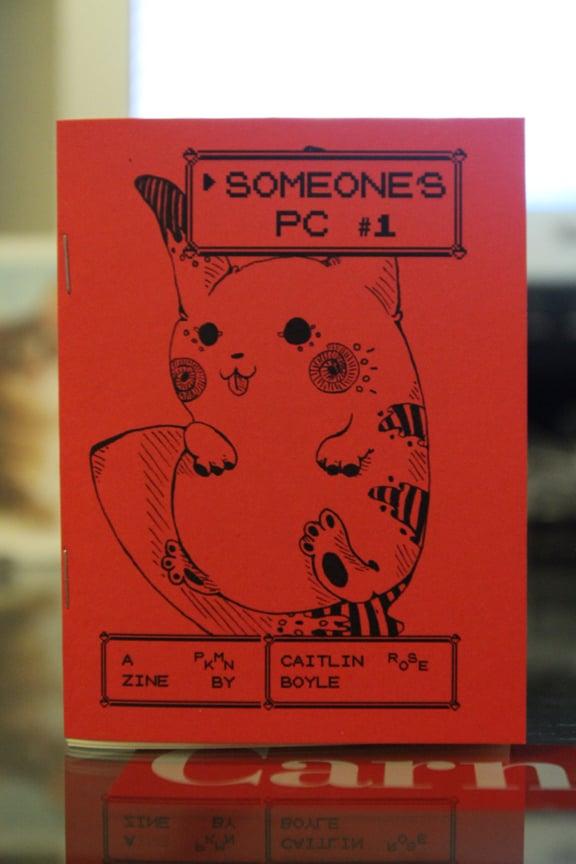 Image of SOMEONE'S PC #1 a Pokémon Illustration Zine