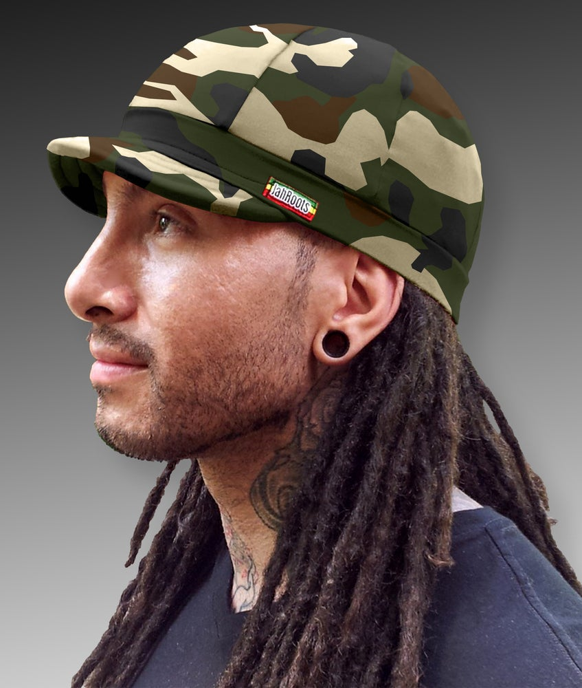 Image of Jah Roots Caps (Camo)