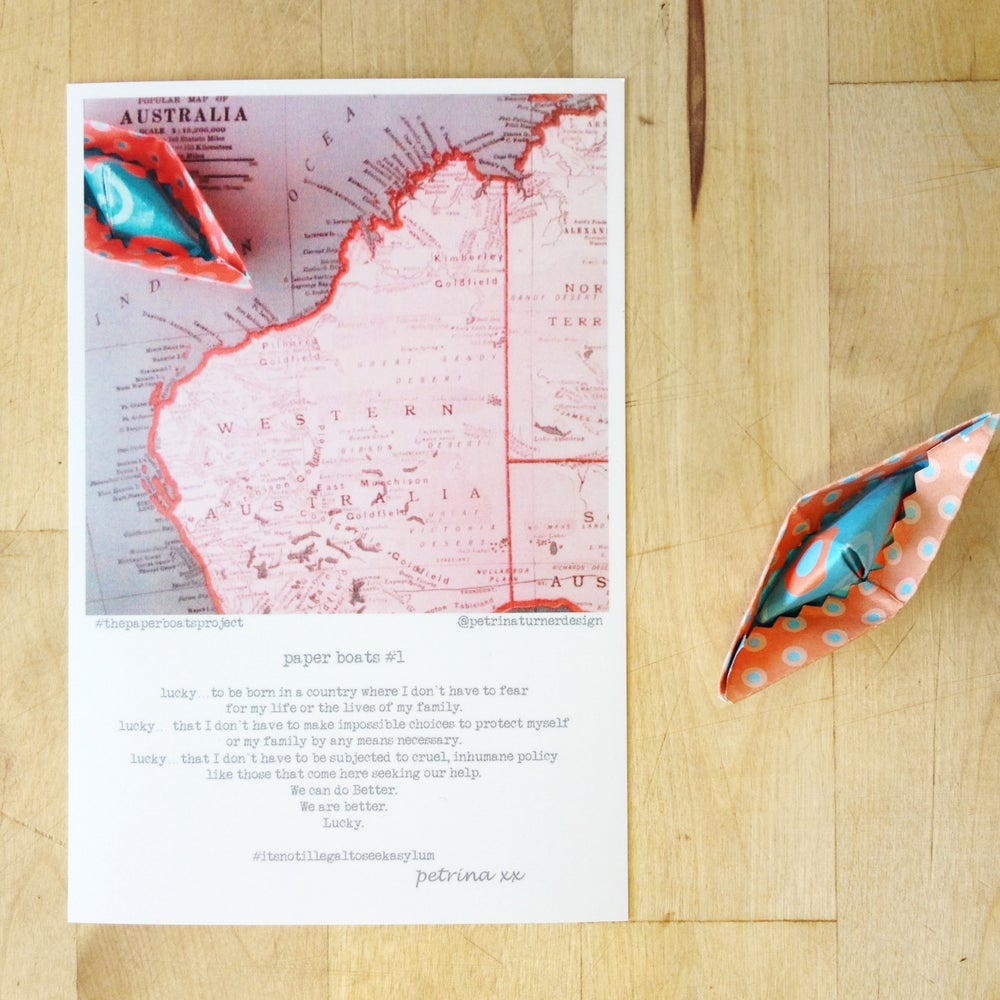 Image of #thepaperboatsproject inspiration cards