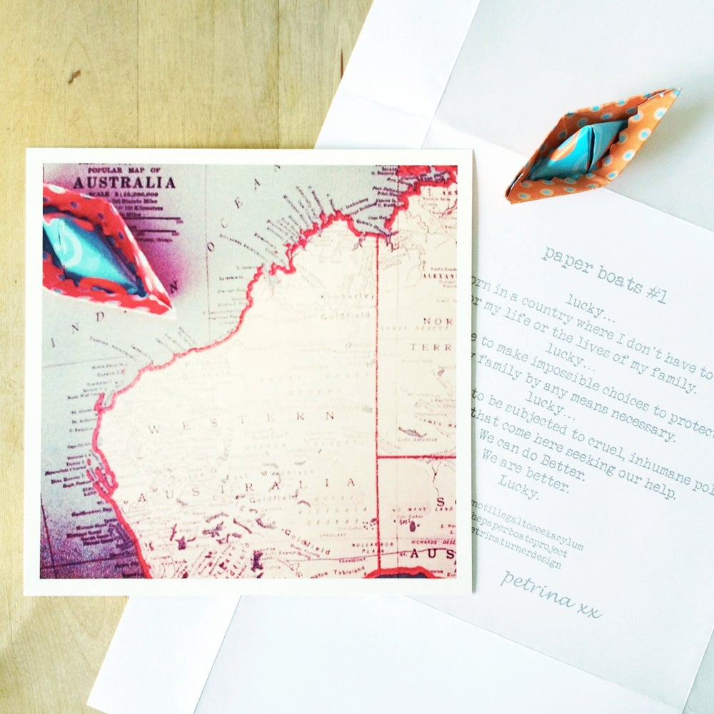 Image of #thepaperboatsproject prints