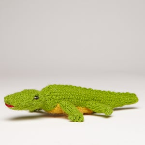 Image of Puppet animal Crocodile