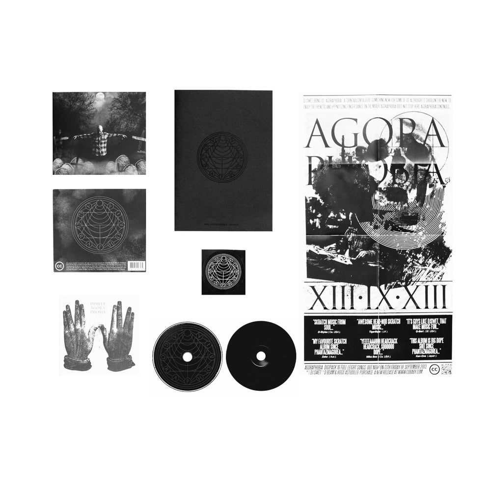 Image of AGORAPHOBIA (CD)