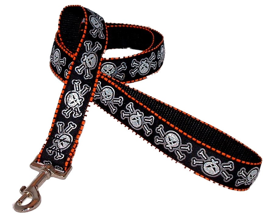Skulls & Stripes - Dog Collar