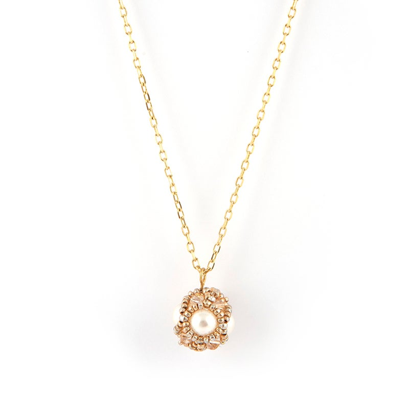 Image of Empire Pendant - Pearl