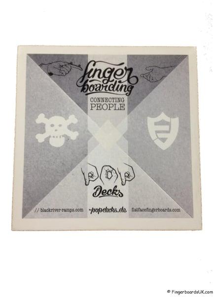 Image of Pop Decks x Blackriver x Flatface Sticker
