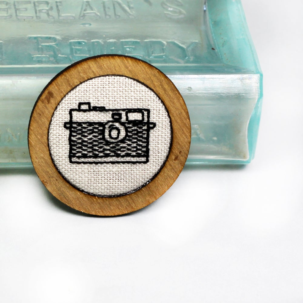 Image of Retro Instamatic Camera - Classic Round Frame