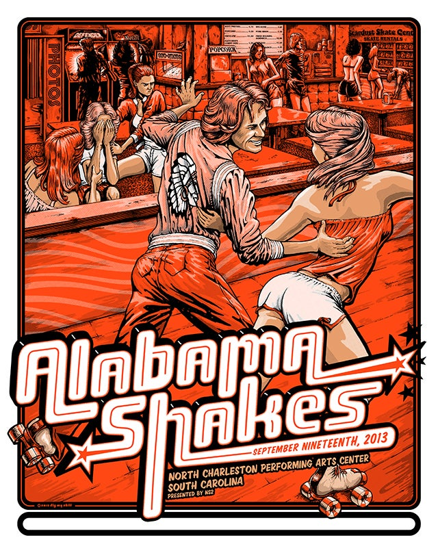 Image of Alabama Shakes SC 2013