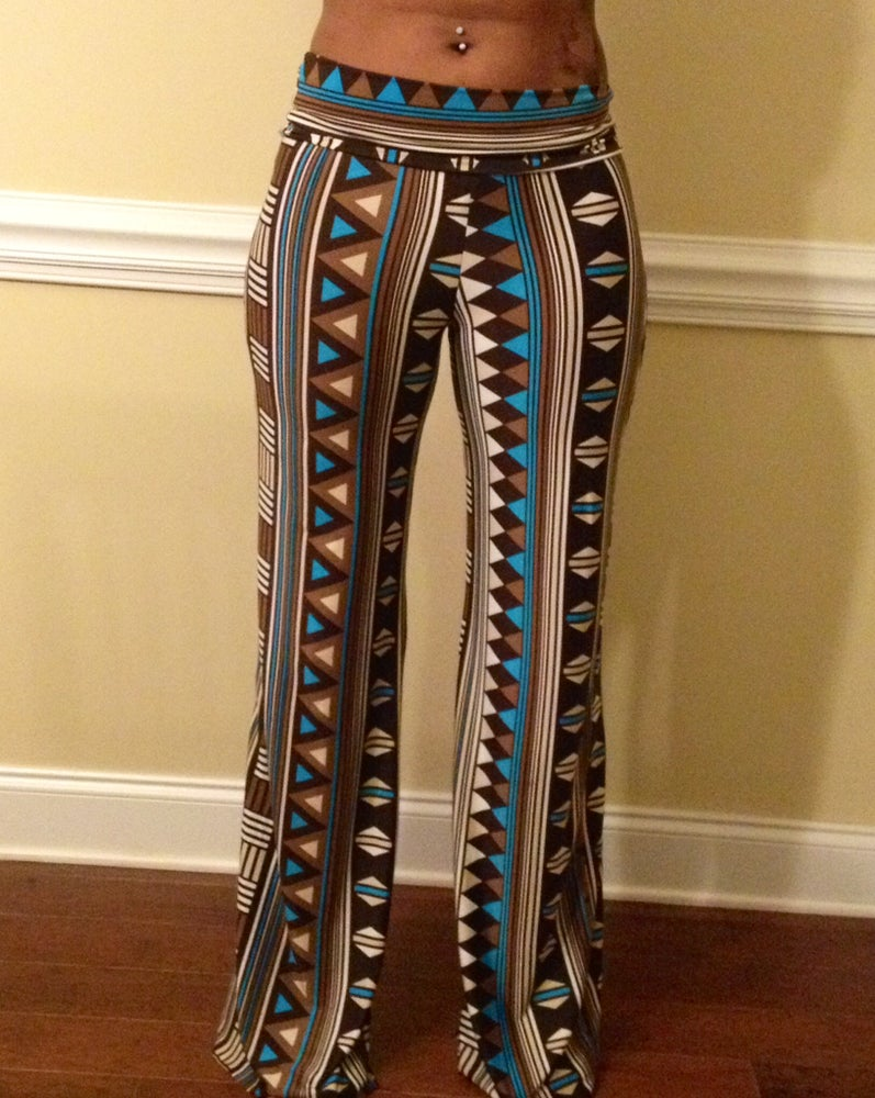 Image of Triangle Palazzo Pants