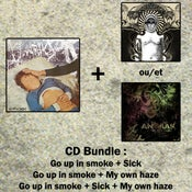 Image of Anorak CD Bundle - Go up in smoke + Sick / My Own Haze (Pre-order)