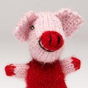 Image of Puppet animal Pig Pink