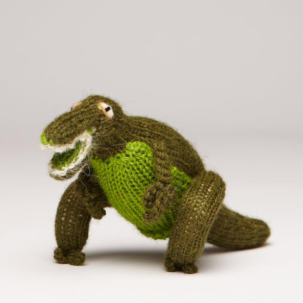 Image of Finger Puppet Dinosaur