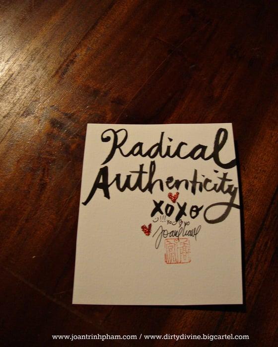 Image of Radical Authenticity