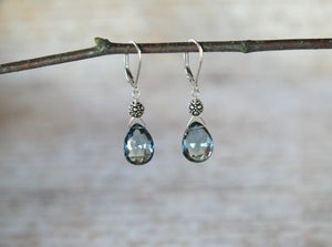 Image of London Blue Topaz Earrings