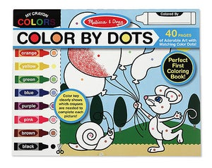 Image of Melissa & Doug Color by Dots