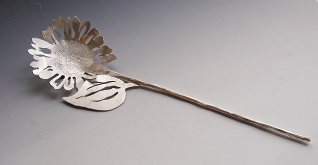 Image of Custom Floral Hairstick