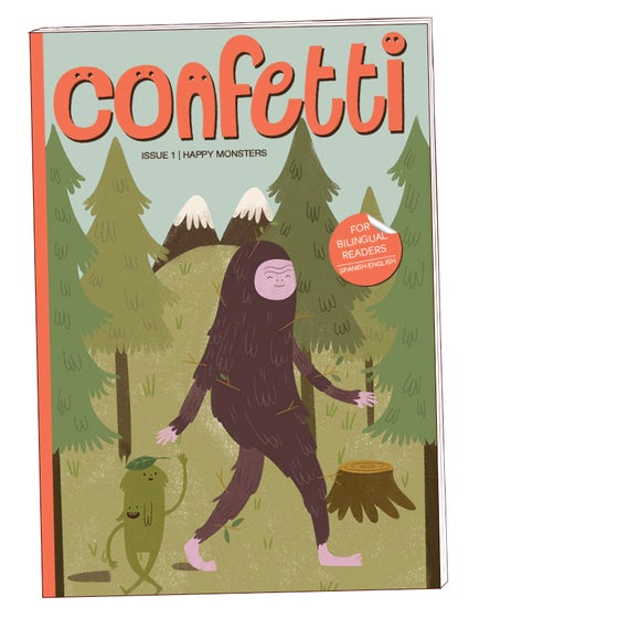 "Image of Confetti#1 ""Happy Monsters"""