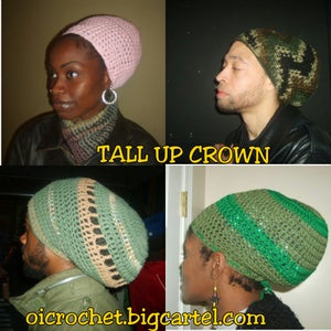 "Image of ""TALL UP""  CROWN (UNISEX)"