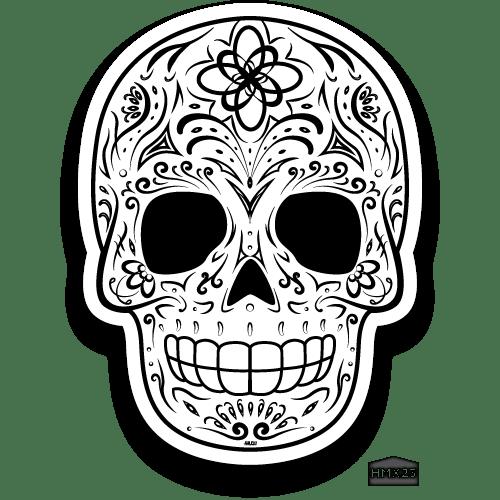 Sugar Skull Traditional Hmx 23