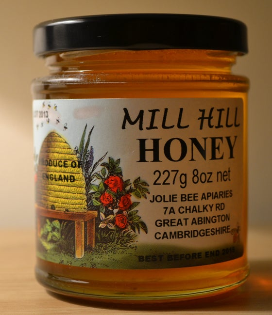 Image of Mill Hill Honey 8oz Jar