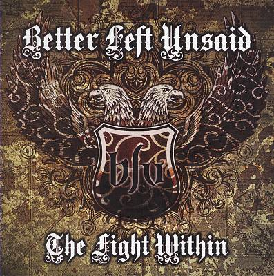 "Image of Better Left Unsaid ""The Fight Within"" CD"