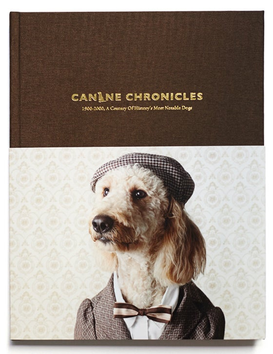 Image of canine chronicles book, limited first edition