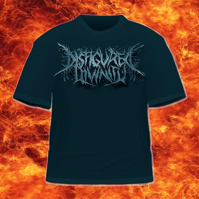Image of DISFIGURED DIVINITY - LOGO-T-SHIRT