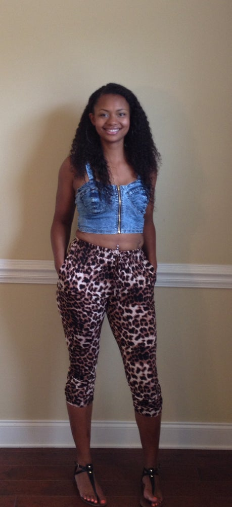 Image of Cheetah Print Capris
