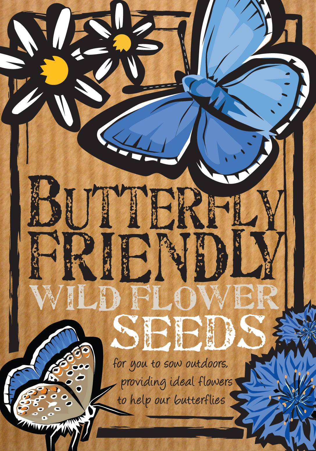 Image of Butterfly-Friendly Wild Flower Seeds (£3.00 including VAT)