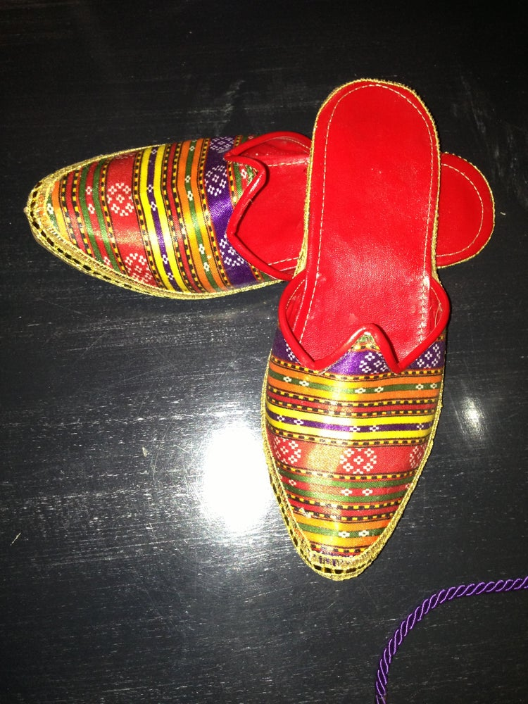 "Image of Ottoman ""KUTNU"" Slippers"