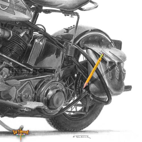 "Image of ""The Perfect Bike"" Signed & Numbered 20x24 Giclee' Print"