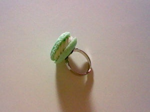 Image of Green Macroon Ring
