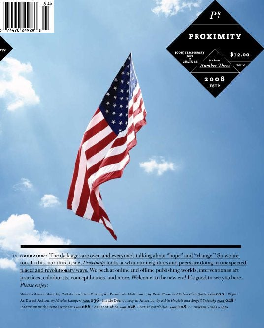 Image of Proximity Magazine Issue 003