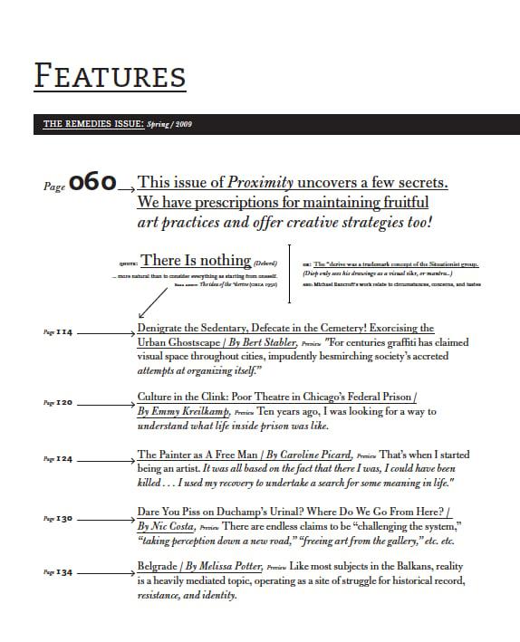 Image of Proximity Magazine Issue 004