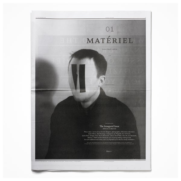 Image of Matériel Issue #001