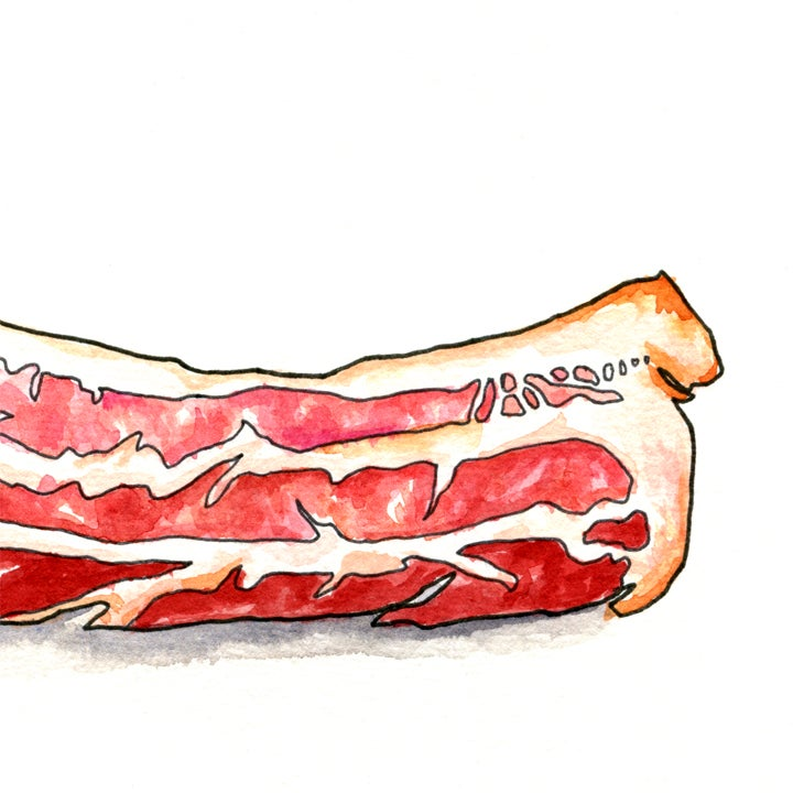 Image of Morning Applewood Bacon Print