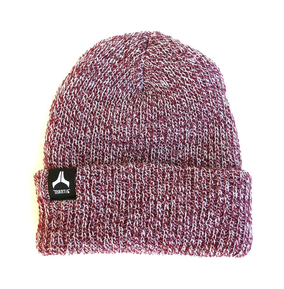 Image of Beanie - Salary Cap / Burgandy heather