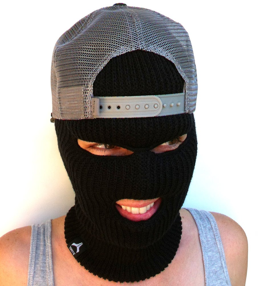 Image of ON SALE !! Facemask / snowboard facemask / black 3 hole