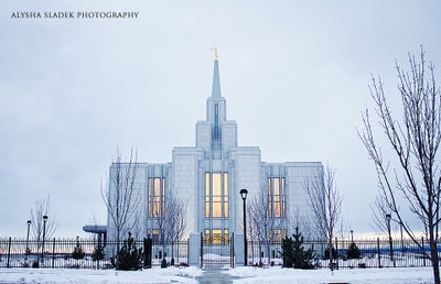 Image of North Side - Calgary Alberta Temple