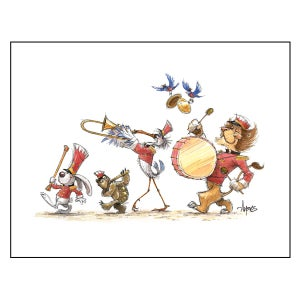 """Image of """"Marching Band"""" Print"""