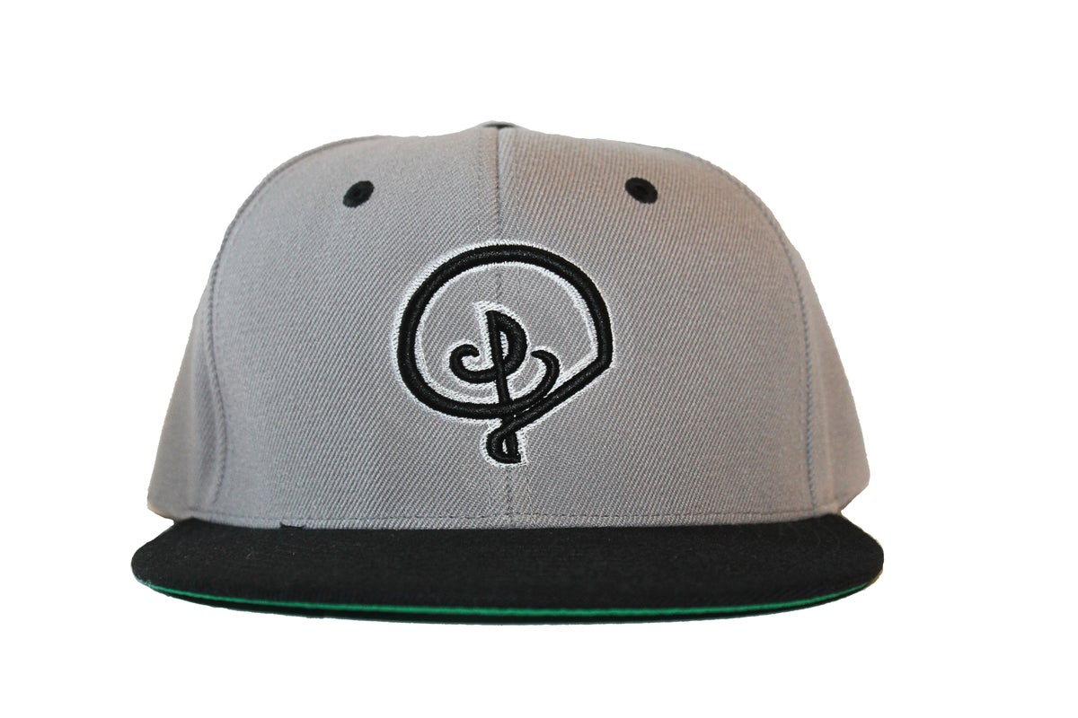 Image of GREY SNAPBACK 2TONE